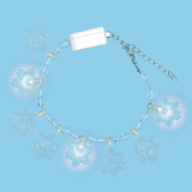 Snowflake Light-Up Bracelet Party Accessory