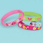Garden Girl Rubber Bracelet