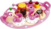 Discoveroo Patisserie Wooden Tea Set for Kids