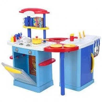 . Home Mix n Match Kitchen Centre - Blue by RJ Quality Products - Shop Online for Toys in Australia