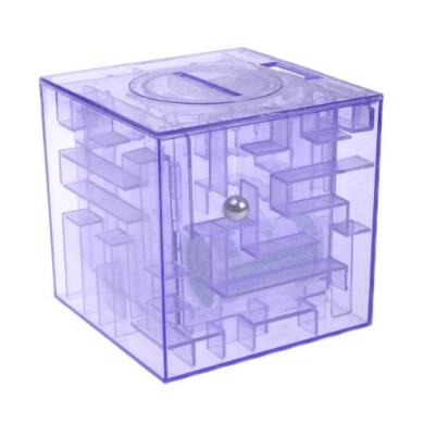 Bestdealusa funny money maze piggy bank saving coin gift for Maze coin bank