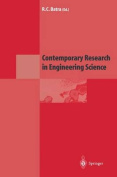 Contemporary Research in Engineering Science