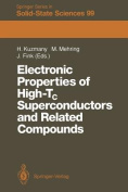 Electronic Properties of High-Tc Superconductors and Related Compounds