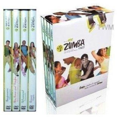 Zumba Fitness 4 DVD set