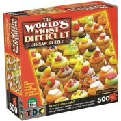 World's Most Difficult Jigsaw Puzzle 500 Pieces 38cm x 38cm -Killer Cupcakes