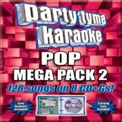 Party Tyme Karaoke - Pop Mega Pack 2  [Box] [8 Discs]
