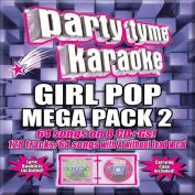 Party Tyme Karaoke - Girl Pop Mega Pack 2  [Box] [8 Discs]