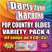 Party Tyme Karaoke - Variety Pack 4  [4 Discs]