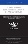Strategies for Representing Clients in Probate Court