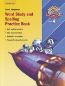 Reading 2007 Spelling Practice Book Grade 4