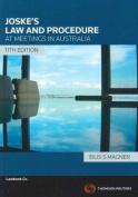 Joske's Law & Procedures at Meetings in Australia