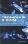 Corporations Law: In Principle