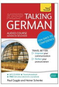 Keep Talking German Audio Course - Ten Days to Confidence [Audio]
