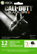 Call of Duty Black Ops 2 Xbox LIVE 12 Months Gold Subscription with 1 Bonus Month