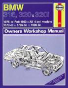 BMW 316, 320 & 320i Owner's Workshop Manual
