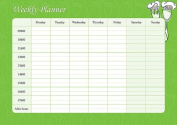 Weekly Planner - Fork & Spoon