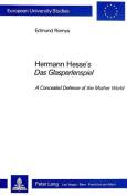 Hermann Hesse's Das Glasperlenspiel