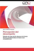 Percepci N del Desempe O [Spanish]