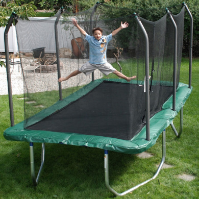 Skywalker 8'x14' Rectangular Trampoline & Safety Combo