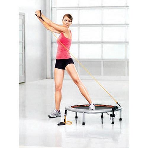 Trampoline Workout Legs: Gold's Gym Circuit Trainer 90cm Mini Trampoline. Huge