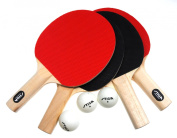 Stiga Classic 4-Player Table Tennis Set