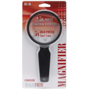 Carson MagniView 2.5x Hand Magnifier with 5x Spot Lens