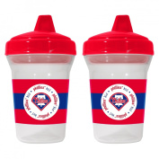 Baby Fanatic 143388 Philadelphia Phillies Sippy Cups 2-pack