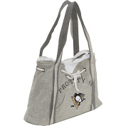 Littlearth NHL Hoodie Purse Grey/Pittsburgh Penguins