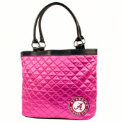 NCAA - Alabama Crimson Tide Pink Quilted Tote