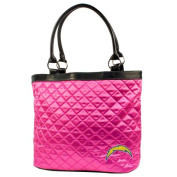 NFL - San Diego Chargers Pink Quilted Tote