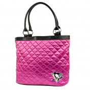 NHL - Pittsburgh Penguins Pink Quilted Tote