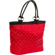 Quilted Tote - University of Wisconsin