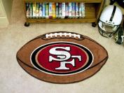 FanMats San Francisco 49ers Football Mat F0005835