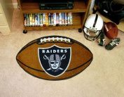 FanMats Oakland Raiders Football Mat F0005936