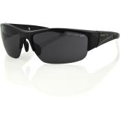 Bobster Ryval Street Sunglasses, Gloss Black Frame, Smoked Lenses