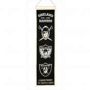 Oakland Raiders Heritage Banner