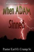 When Adam Sinned