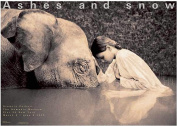 Girl with Elephant New York Exhibition (Standard Poster)