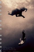 Gregory Swimming with Elephant New York Exhibition (Standard Poster)