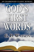 God's First Words
