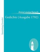 Gedichte (Ausgabe 1792) [GER]