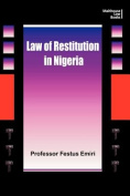 The Law of Restitution in Nigeria