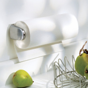 InterDesign Forma Wingo Wallmount Paper Towel Holder, Brushed Stainless Steel