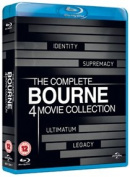 Bourne Quadrilogy [Region 2] [Blu-ray]