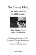 21st Century Ethics