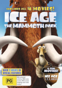 Ice Age Mammoth Pack (All 4 Movies)   [4 Discs] [Region 4]