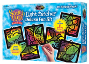 Melissa and Doug 5986 Scratch Magic Light Catcher Deluxe Set - 3373