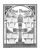 Altar Flower Chart #1