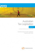 Australian Tax Legislation 2013