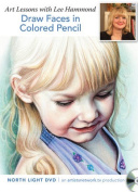 Draw Faces in Colored Pencil